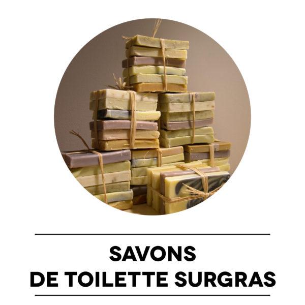 Savons de toilette surgras